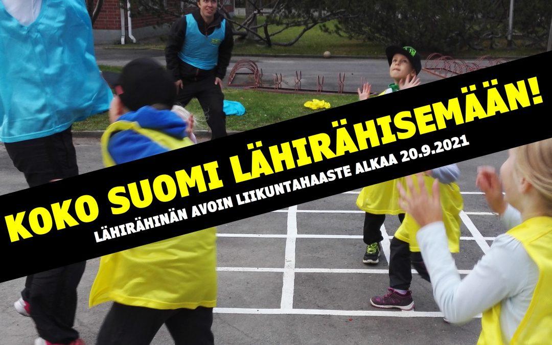 Koko Suomi Lähirähisemään!